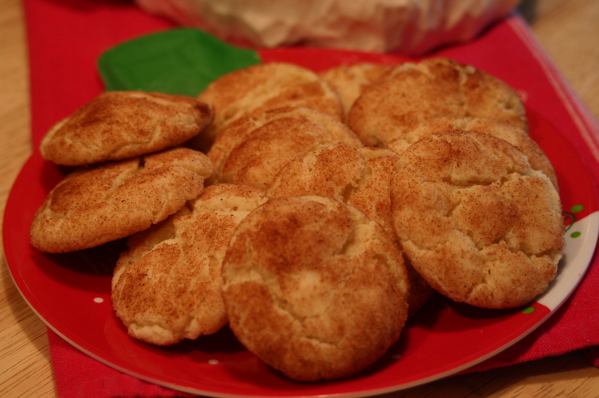 On the Tenth Day of Christmas … Snickerdoodle Cookies | Kitchen ...